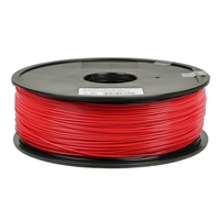 Inland 1.75mm Red ABS 3D Printer Filament - 1kg Spool (2.2 lbs)