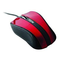 iHome Precision USB Desktop Mouse - Red