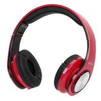 Vivitar Get Loud DJ Wired Headphones - Red