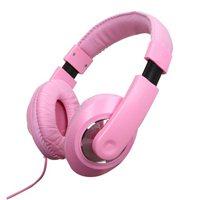 Vivitar Deejay Listen Up Stereo Headphones w/ Mic - Pink