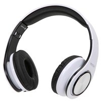 Vivitar Get Loud DJ Wired Headphones - White