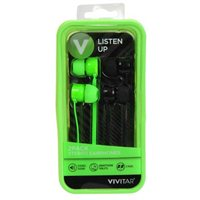 Vivitar Earbuds - Gray/Black (2-Pack)