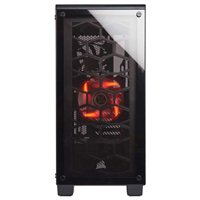 Corsair Crystal 460X ATX Mid-Tower Computer Case Open-Box - Black