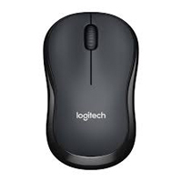 Logitech M185 Wireless Optical Mouse Refurbished - Black