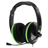 Turtle Beach Ear Force XL1 Analog Xbox 360 Gaming Headset - Refurbished - Black