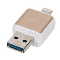 Micro Center 16GB Dual USB 3.0 Flash Drive for Apple Lightning Devices