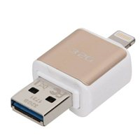 Micro Center 32GB Dual USB 3.0 Flash Drive for Apple Lightning Devices