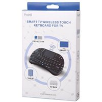 Inland Wireless Mini Keyboard - Black
