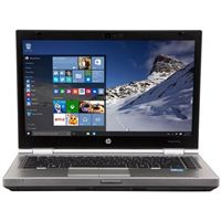 "HP EliteBook 8470p 14.0"" Laptop Computer Refurbished - Silver"