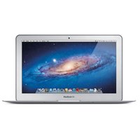 "Apple MacBook Air MC969LL/A 11.6"" Laptop Computer Off Lease Refurbished - Silver"