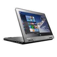 "Lenovo ThinkPad Yoga 11e 11.6"" 2-in-1 Laptop Computer Refurbished - Black"