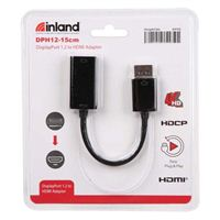Inland DisplayPort Male to HDMI Female 4K Adapter