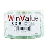 WinValue CD-R 50 Pack