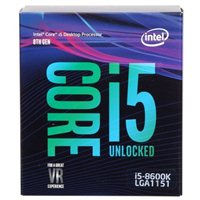 Intel Core i5-8600K Coffee Lake 3.6 GHz LGA 1151 Boxed Processor