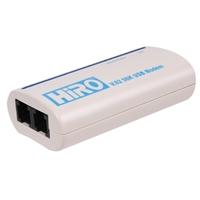 HiRO H50113 V92 56K External USB Data Fax Voice Dial Up Internet Modem Windows 7 Vista XP 32 Bit 64 Bit RoHS