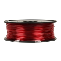 Inland 1.75mm Translucent Magenta PETG 3D Printer Filament - 1kg Spool (2.2 lbs)