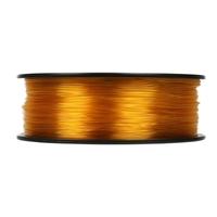 Inland 1.75mm Translucent Yellow PETG 3D Printer Filament - 1kg Spool (2.2 lbs)