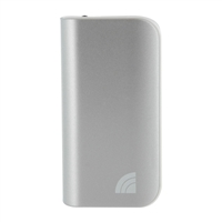 Inland 5,200mAh Power Bank Battery Charger & LED Flashlight for Mobile Devices - Silver