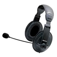 Inland Multimedia Headset 87052 - Black