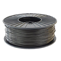 Inland 1.75mm Silver ABS 3D Printer Filament - 1kg Spool (2.2lbs)