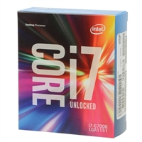 Intel Core i7-6700K SkyLake 4.0 GHz LGA 1151 Boxed Processor