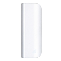Inland 10,400 mAh Power Bank Battery Charger & LED Flashlight for Mobile Devices - Silver