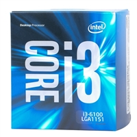 Intel Core i3-6100 SkyLake 3.7 GHz LGA 1151 Boxed Processor