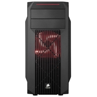 Corsair Carbide SPEC-02 Red LED ATX Mid-Tower Computer Case Open-Box - Black
