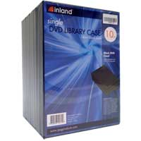 Inland 14mm DVD Library Case 10 Pack