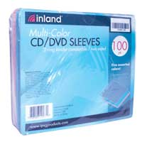 Inland EZ Sleeve Multicolor 100 Pack