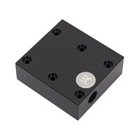 "EKWB G 1/4"" EK-FC Terminal Dual Parallel Graphics Water Block - Black"