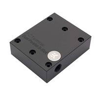 "EKWB G 1/4"" EK-FC Terminal Dual Parallel 3-Slot Graphics Water Block - Black"