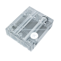 "EKWB G 1/4"" EK-FC Terminal Dual 3-Slot Inter Connect Graphics Water Block - Clear"