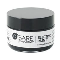 Bare Conductive Electric Paint Pot - Black (50ml)