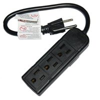 Inland 3 Outlet Extension Cord