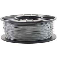 Inland 2.85mm Gray PETG 3D Printer Filament - 1kg Spool (2.2 lbs)