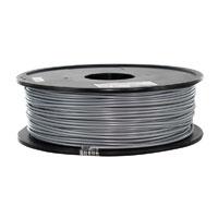 Inland 1.75mm Silver PETG 3D Printer Filament - 1kg Spool (2.2 lbs)