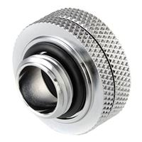 "Bitspower G 1/4"" Enhanced Straight Compression Fitting - Silver"