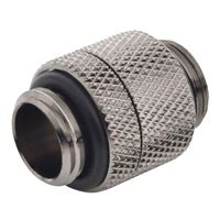 "Bitspower G 1/4"" Male to Male Rotary Extender Fitting - Black Sparkle"