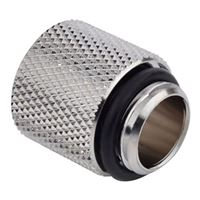 "Bitspower G 1/4"" 15mm Male to Female Extender - Silver"