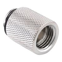 "Bitspower G 1/4"" 20mm Male to Female Extender - Silver"