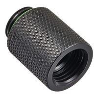 "Bitspower G 1/4"" 20 mm Male to Female Extender - Matte Black"