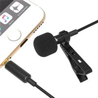 Sabrent Clip-on Omnidirectional Condenser Microphone for Mobile