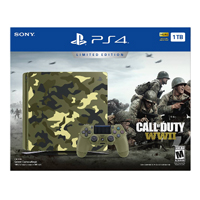 Sony Call of Duty: WWII Limited Edition PlayStation 4 Bundle - Camouflage