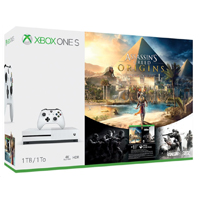Microsoft Xbox One S 1 TB Console - Assassin's Creed Origins Bonus Bundle