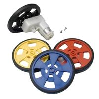 Solarbotics GM2 Motors Kit with Wheels and Screws