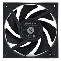 EKWB EK-Vardar EVO 120ER Black 120mm Case Fan