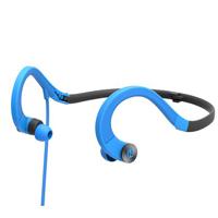 iHome iB33 Water-Resistant Foldable Sport Headphones - Blue/Gray
