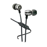 iHome Metal Earbuds w/ Mic - Black