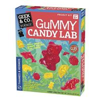 Thames & Kosmos Geek & Co. Gummy Candy Lab Science Kit